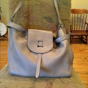 🌟Gorgeous Meli Melo large Thela bag in taupe